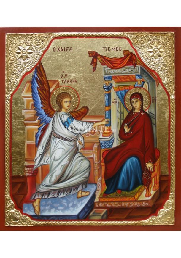 Репродукция на икона на Композиция - библейска сцена