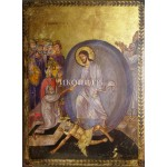 Икона със злато Христос