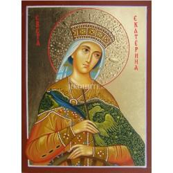 Икона на света Екатерина – знатната светица