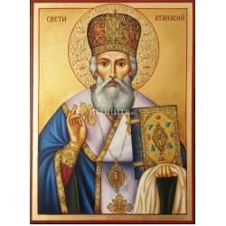Икона на Свети Атанасий – мъдрец и защитник на православната вяра