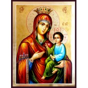 Икони на Св. Богородица с декупаж