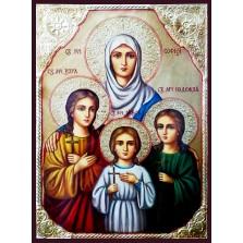 Икони на светци и пророци с декупаж
