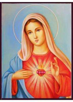 Рисувани икони на Св. Богородица