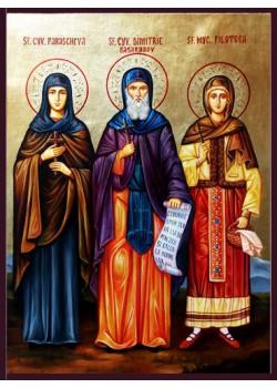 Рисувани икони на светци и пророци