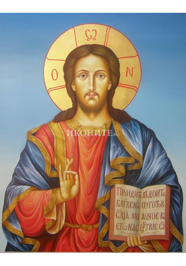 Христос - малка икона от дърво