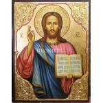 Малка икона от дърво - Исус Христос