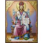 Репродукция на икона на Исус Христос Велик Архиерей