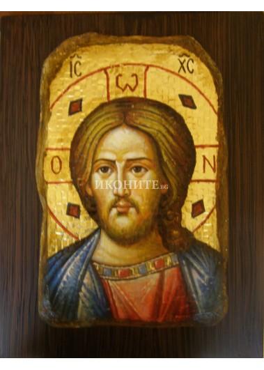 Малка икона на Исус Христос - мозайка