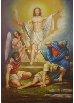 Икона Възкресение Христово - Господ - репродукция