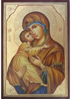 Владимирска чудотворна икона на Св. Богородица - Умиление - репродукция