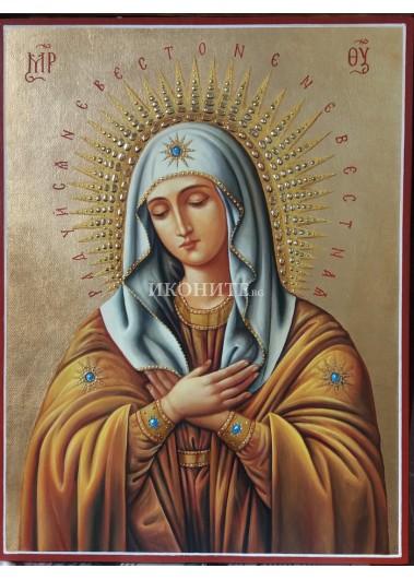 Икона на Света Богородица - Радост на радостите - репродукция