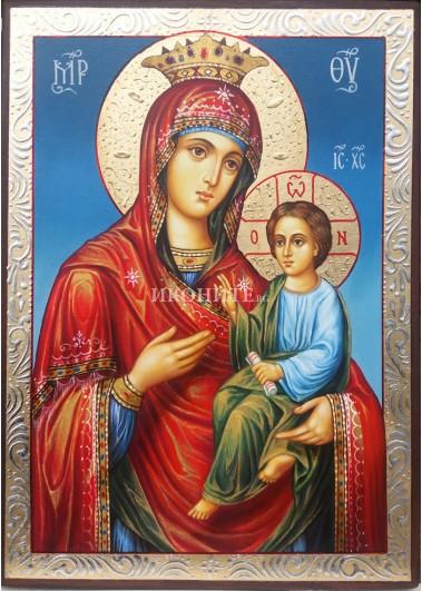 Чудотворна икона на Богородица Скоропослушница - Одигитрия - Чуваща молитвите - икона репродукция
