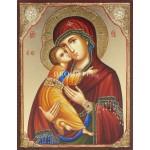 Малка икона на Св. Богородица