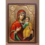Чудотворна икона на Света Богородица (Иверска) - Вратарница - Портаитиса - декупаж