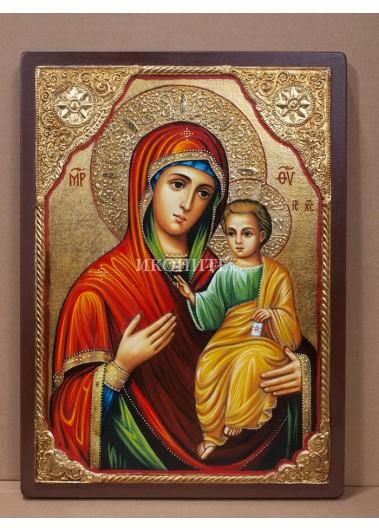 Чудотворната Иверска икона на Света Богородица - Вратарница - Портаитиса - репродукция