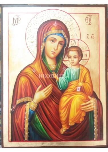 Икона на Света Богородица (Иверска) - Портарица - Пазителка на портата - декупаж