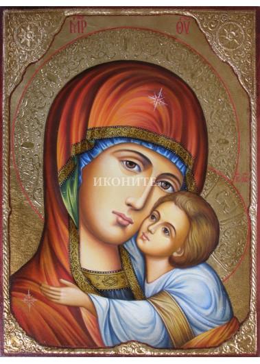 Чудотворна икона на Св. Богородица - Владимирска - Умиление - рисувана икона