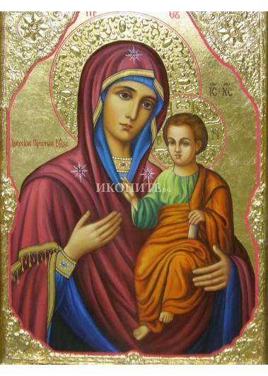 Чудотворната икона на Св. Богородица Вратарица - Пазителка на портите - рисувана икона