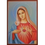 Икона на Светата Майка - живописно изображение - декупаж