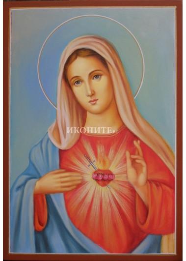 Икона на Светата Майка - живописно изображение - рисувана икона