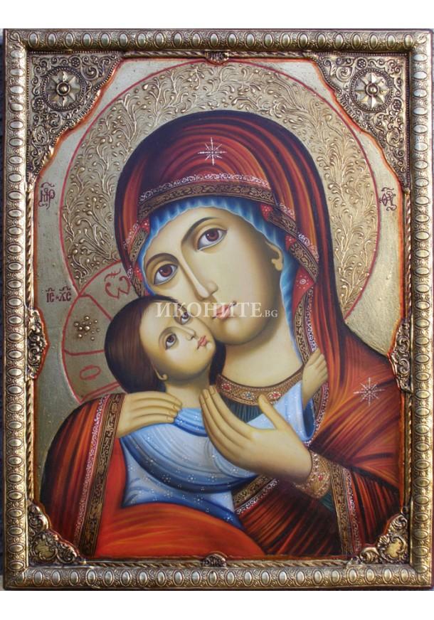 Рилската чудотворна икона на Света Богородица - уникална икона - репродукция