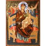 Малка икона на Света Богородица - висококачествен принт