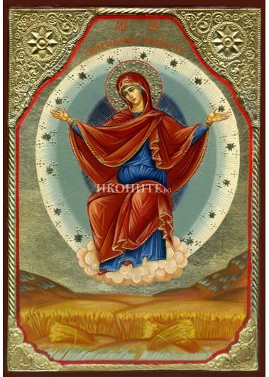Чудотворна икона на Света Богородица Спорителница Хлебов - репродукция