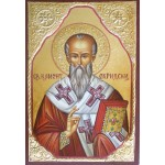 Малка дървена икона на Свети Климент Охридски