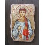 Златна икона Св. Стефан