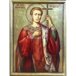 Рисувана икона на Св. Мъченик Игнатий (Васил Левски)
