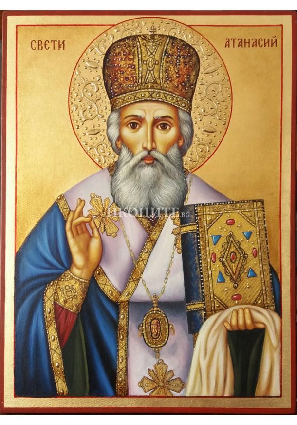 Репродукция на икона на Свети Атанасий