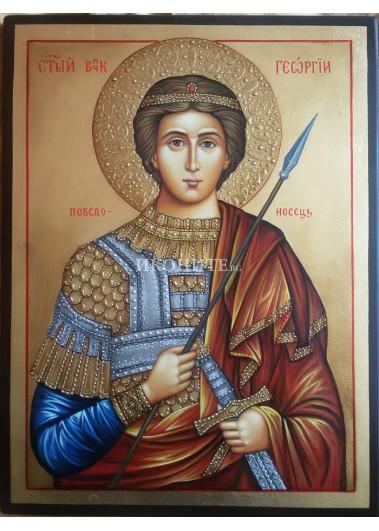 Репродукция на икона на Свети Георги