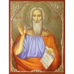 Рисувана икона на Свети Илия