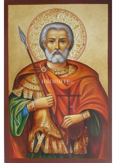 Репродукция на икона на Свети Мина