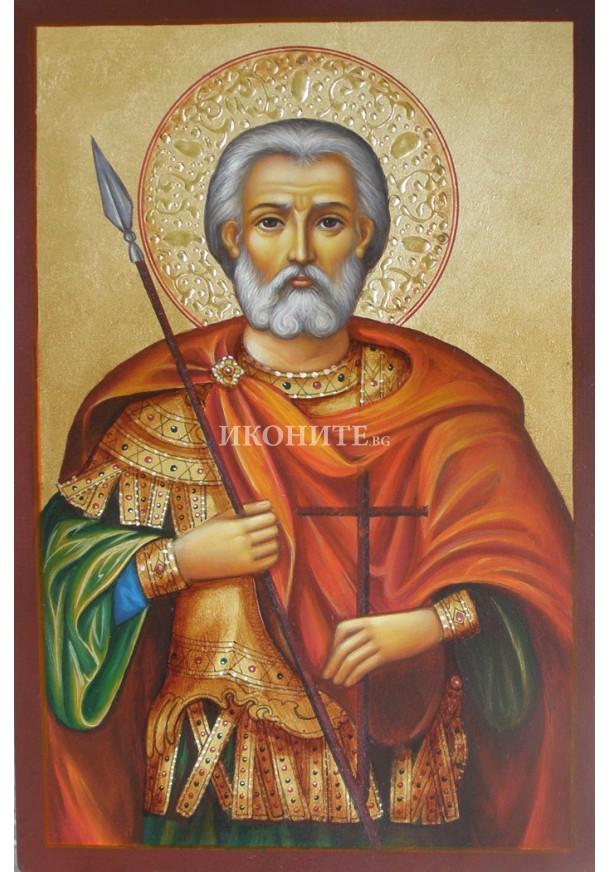 Златна икона Св. Мина