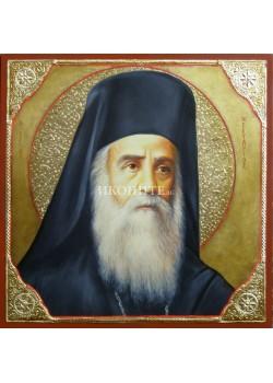 Икона на Свети Нектарий Егински - декупаж