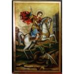Репродукция на икона на Свети Георги Победоносец