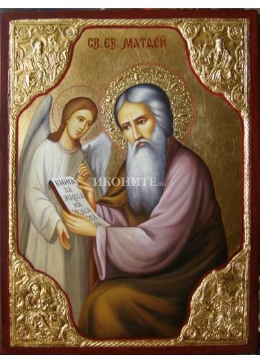 Малка икона на Свети Матей Евангелист